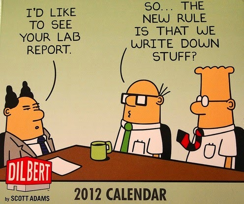 Dilbert calendar System Analyst in Tech support