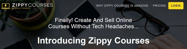 Zippy Courses software for selling premium courses