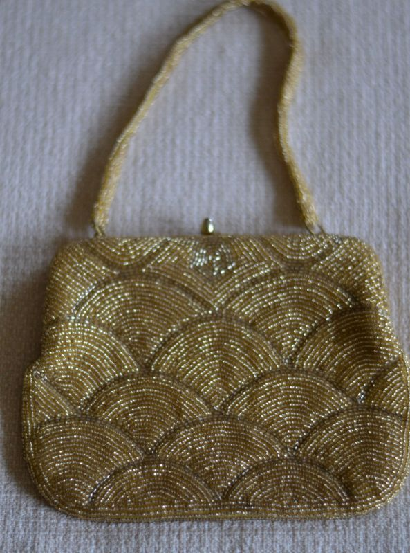 if wore jcrew vintage beaded purse