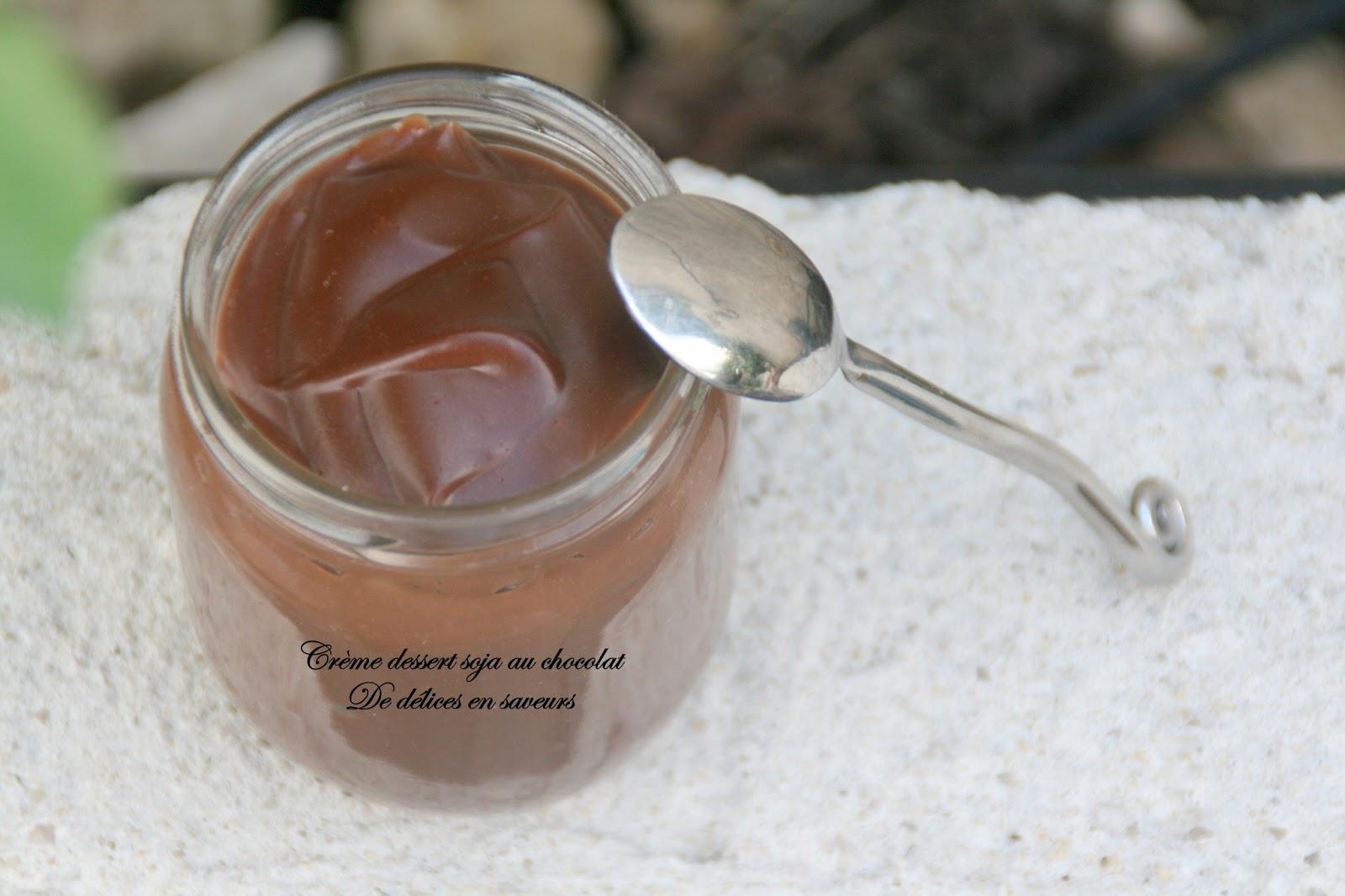 de d 233 lices en saveurs cr 232 me dessert soja au chocolat