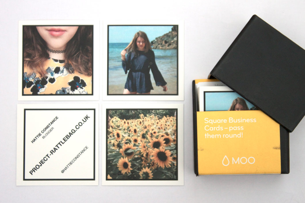 Custom Card Template business cards moo : MOO Business Cards - Hattie Constance
