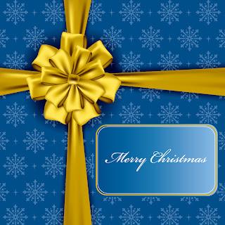 豪華なクリスマス プレゼントのパッケージ christmas gift box packaging vector イラスト素材1
