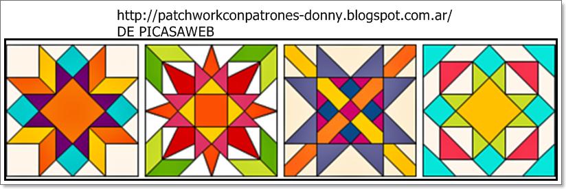 Patchwork solo patrones todo gratis patchwork - Patchwork en casa patrones ...