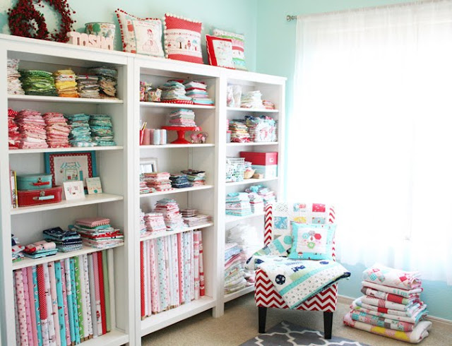 Tasha Noel sewing room inspiration