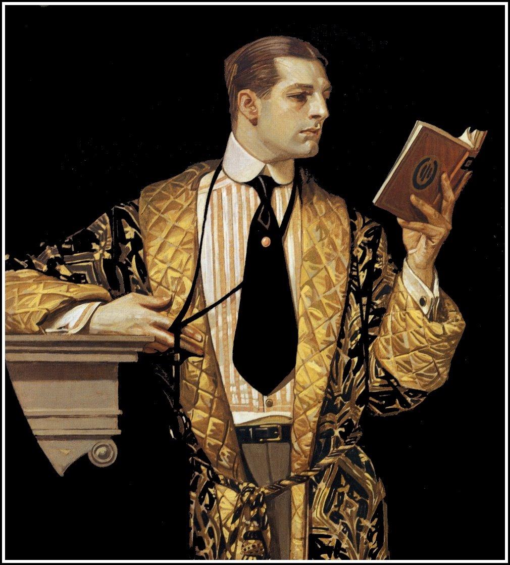 J.+C.+Leyendecker+Man+reading+book+(1916.jpg