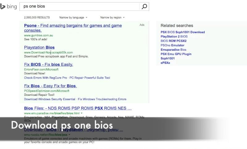 playstation 1 bios android