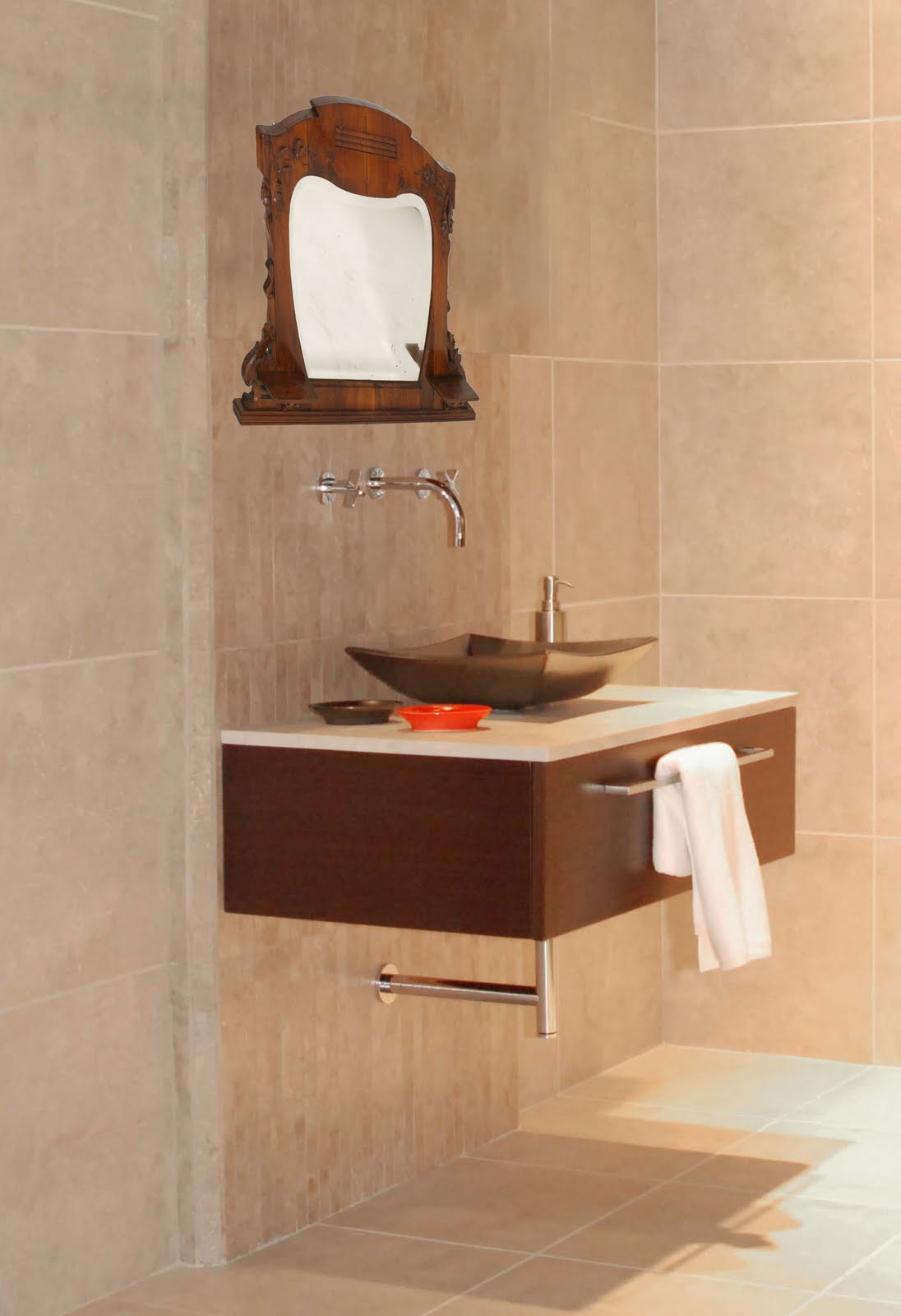 Specchiera bagno specchio art nouveau for Specchio design bagno