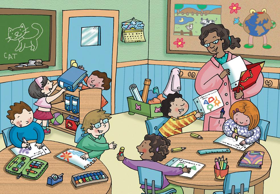 La expresi n pl stica en el proceso de desarrollo de la for Actividades en el salon de clases