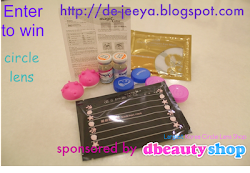 Enter my giveaway contest now to win circle lens gift set !!