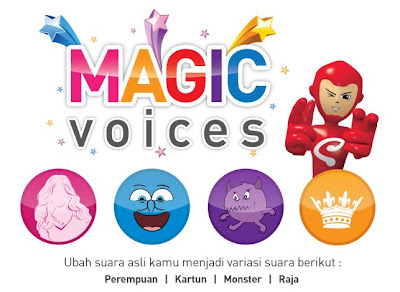 Smartfren Magic Voices, Aplikasi Unik - IDhandphone - Spesifikasi