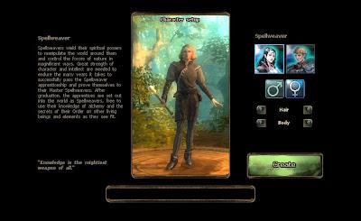 Drakensang Online - Character Create 2