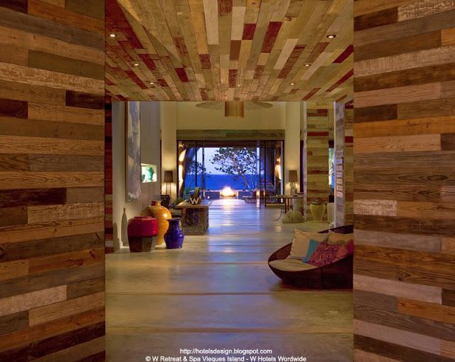 Les Plus Beaux Hotels Design Du Monde H Tel W Retreat