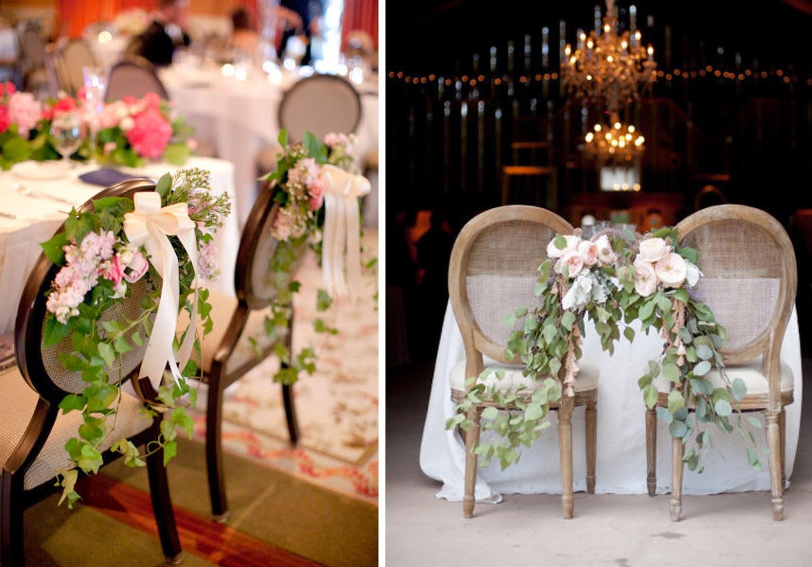 decoracion de sillas para bodas parte 2