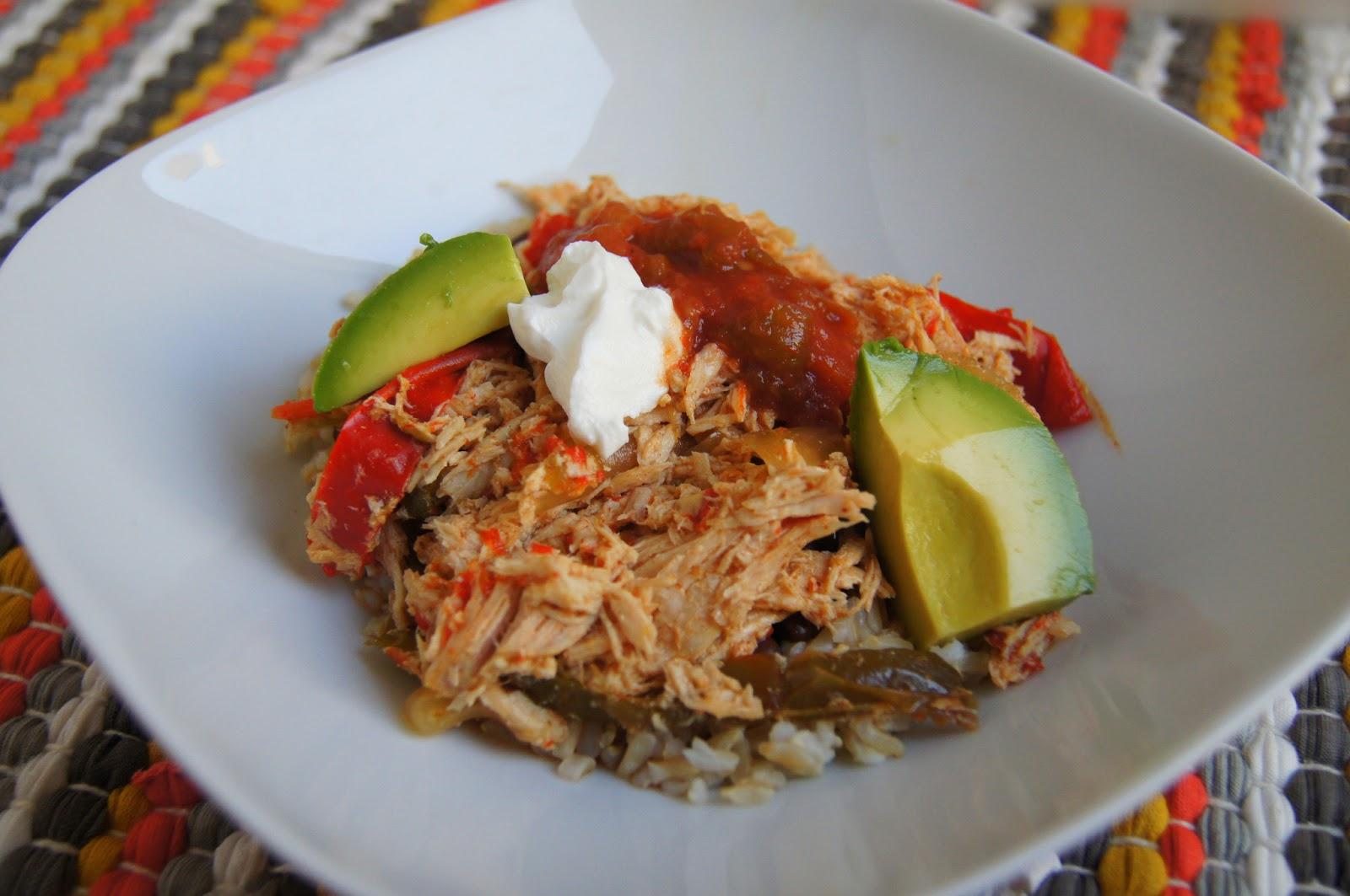 how to make chicken fajitas in crock pot