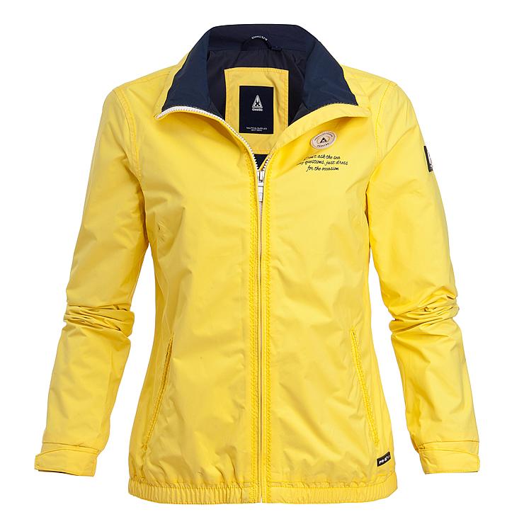 veste gaastra femme jaune