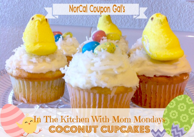 In The Kitchen With Mom Mondays: Coconut cupcakes