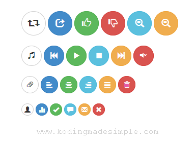 twitter-bootstrap-3-circle-round-buttons-examples