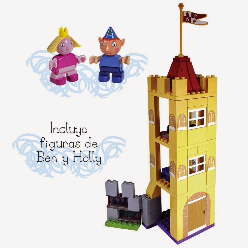 JUGUETES - BEN & HOLLY  Castillo de Holly | Juego de construcción  Producto Oficial | Simba 7790196 | A partir de 3 años