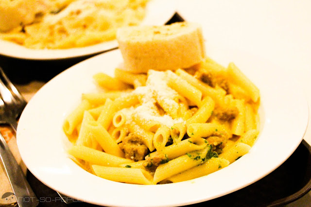 Pumpkin Cream Penne of Goodles