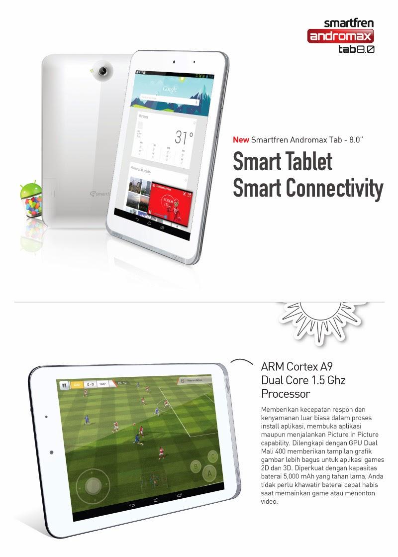 Harga Terbaru Smartfren Andromax Tab 8.0