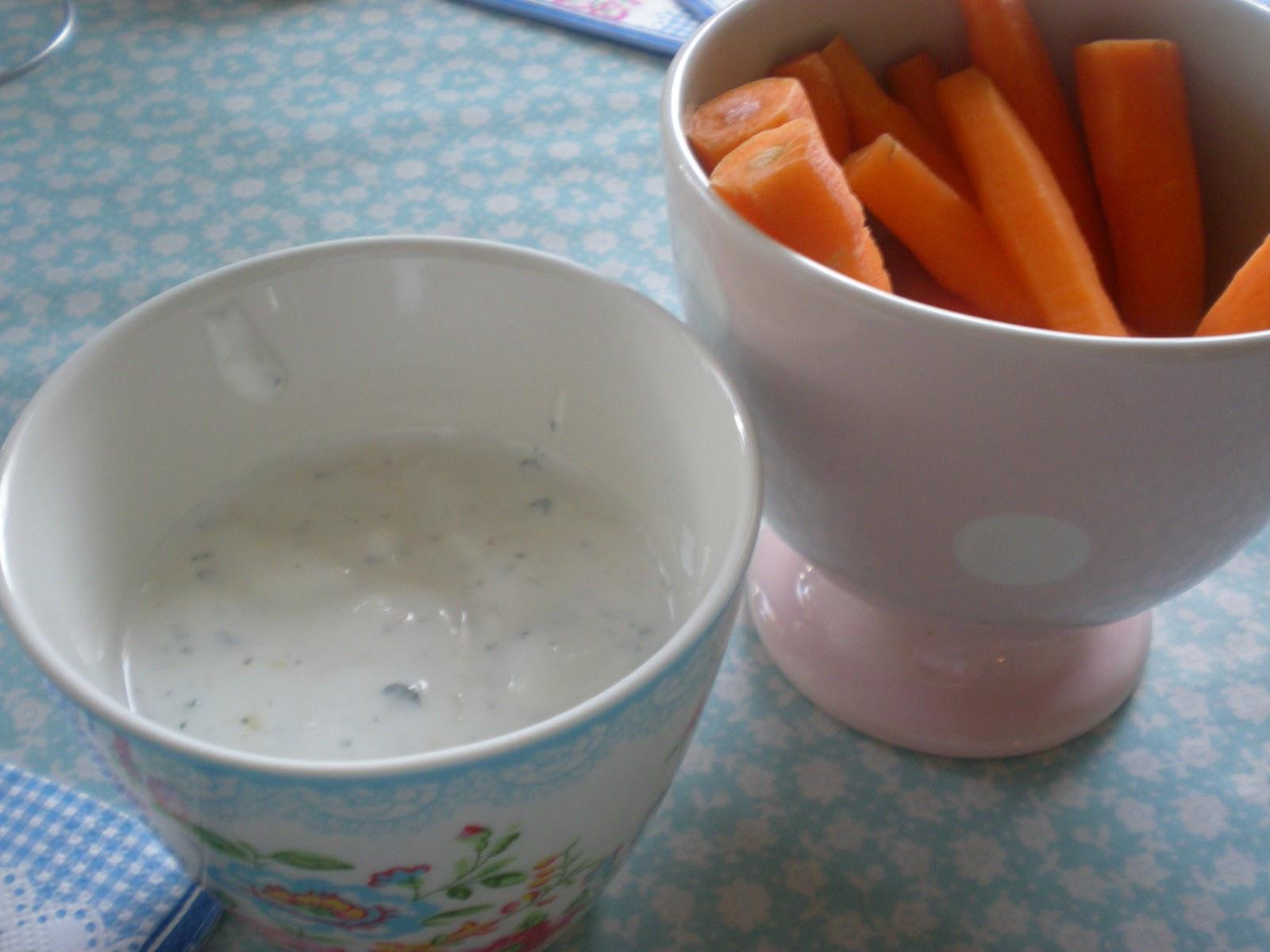 Polpette: Mon dip au fromage blanc de chèvre citronné
