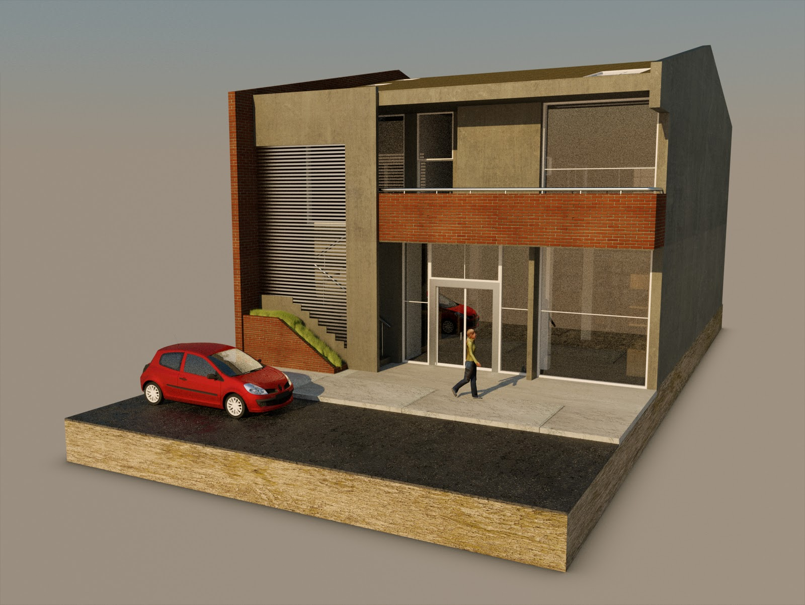 Jtc arquitectura y dise o local comercial papeler a y for Local arquitectura