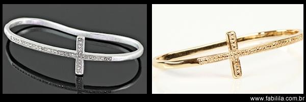 Hand Palm Bracelet de cruz, pulseira de mão, bracelete de mão