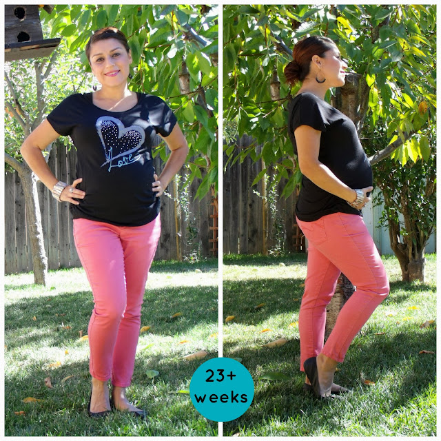 Maternity looks, Maternity clothes, Maternity outfits, Thrifted maternity, Dressing your bump, Inexpensive maternity, 23 weeks