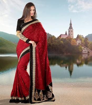 Beautiful Designer Wear as Sarees