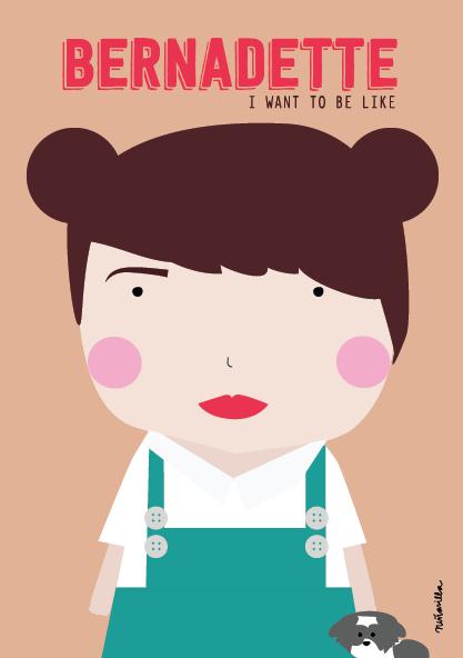 Bernadette in The Little World