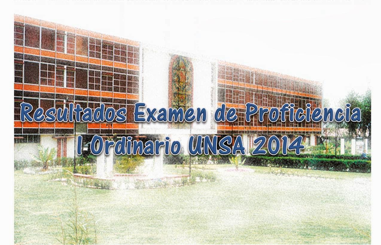 Resultados Del Examen Simulacro Ceprunsa 2012