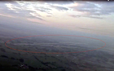 UFOs Shoot Past Passenger Jet Over Manchester, England, UFO Sightings