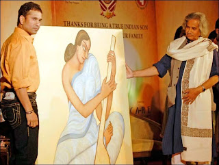 Sachin-Painting-Art-India