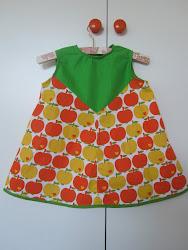 Retro kjole i Graziela stof