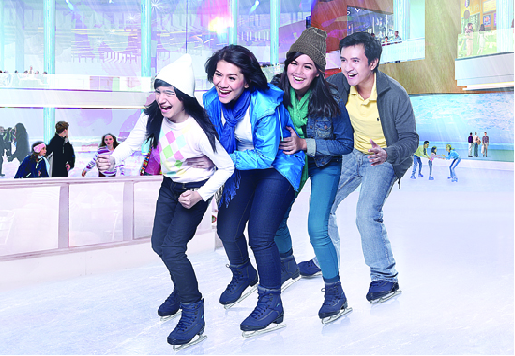 Arena Ice Skating Di Bintaro Xchange Mall