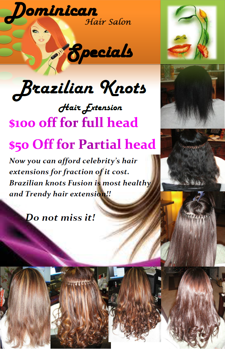 Dominican Hair Salon In Woodbridge Va Brazilian Knots Hair Extension