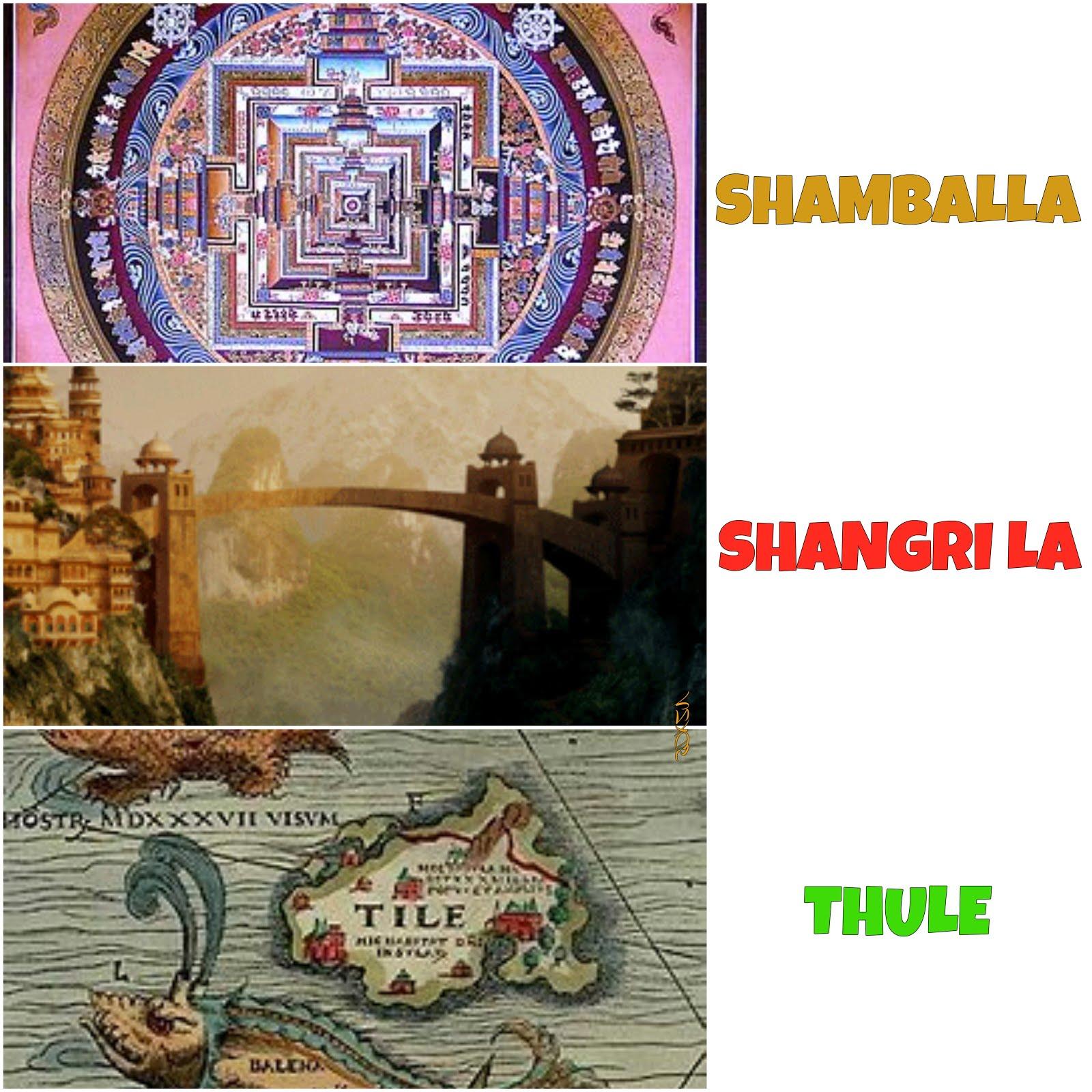 Shamballa - Shangri La - Thule