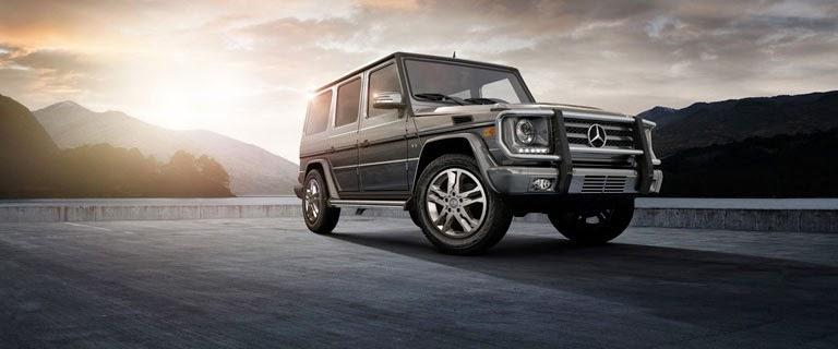 Harga Mercedes jenis G - Class