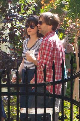"""Zooey Deschanel with Husband"""" width="""