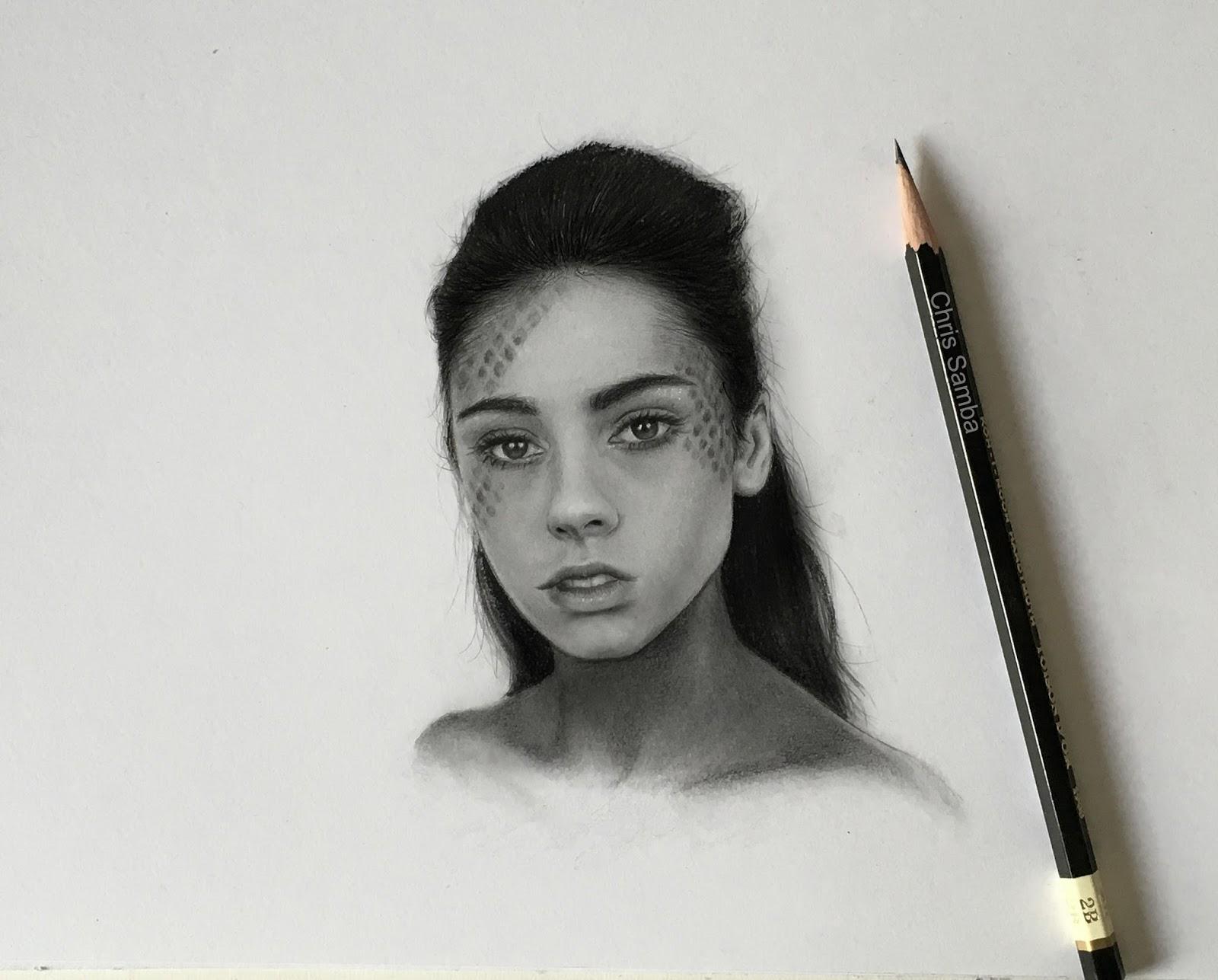 Chris samba art channel small pencil drawing for Small art drawings