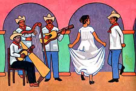 musica danza tradicion mexicana: