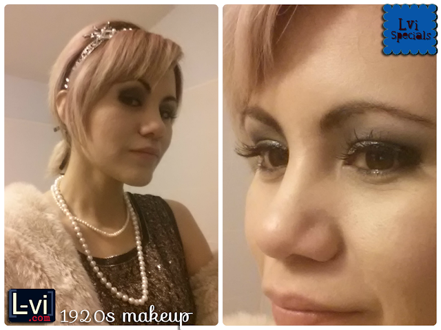 1920s makeup with MaryKay Cosmetics by Lucebuona