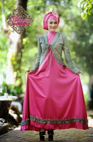 Model Baju Muslim Pesta Modern
