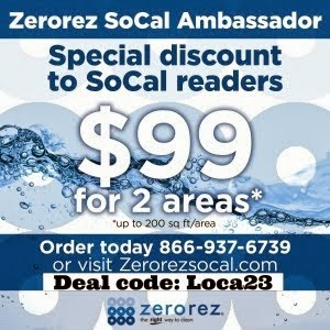 Zerorez Special Discount to SoCal Readers