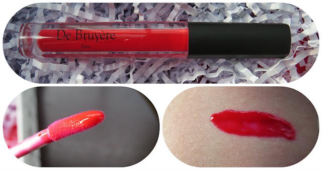 De Bruyere Paris Red Lipgloss