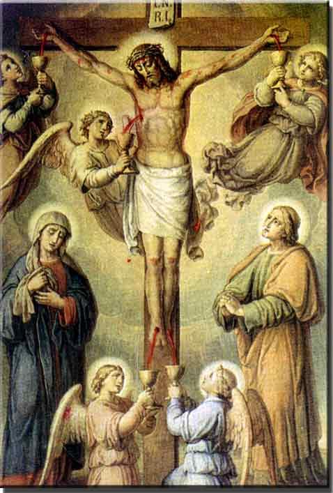 Resultado de imagem para as cinco chagas de jesus