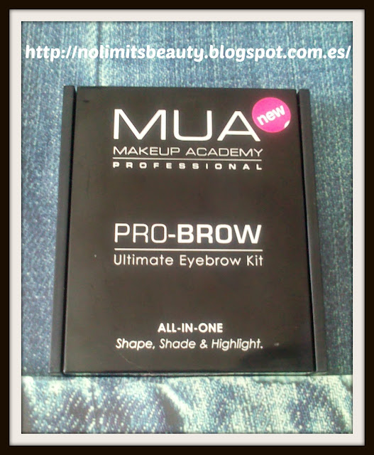 MUA PRO-BROW - Ultimate Eyebrow kit: set para cejas