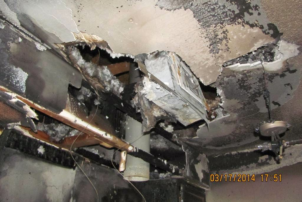 Kitchen grease fire in Pensacola, FL home