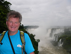 Me at Iguazu Falls, Devil's Throat in background