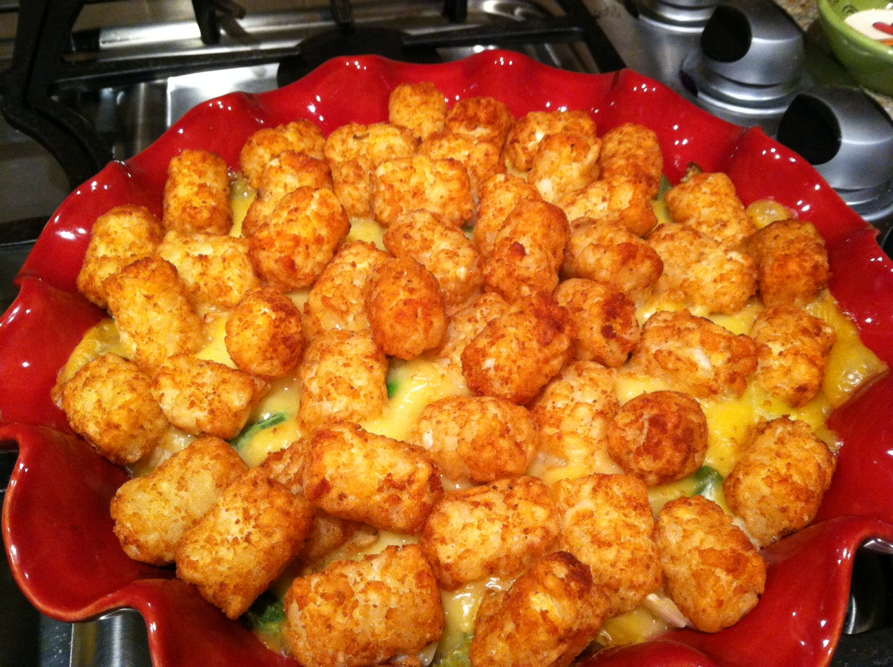 Cookin' With Whatcha Got: Easy Tater Tot Casserole